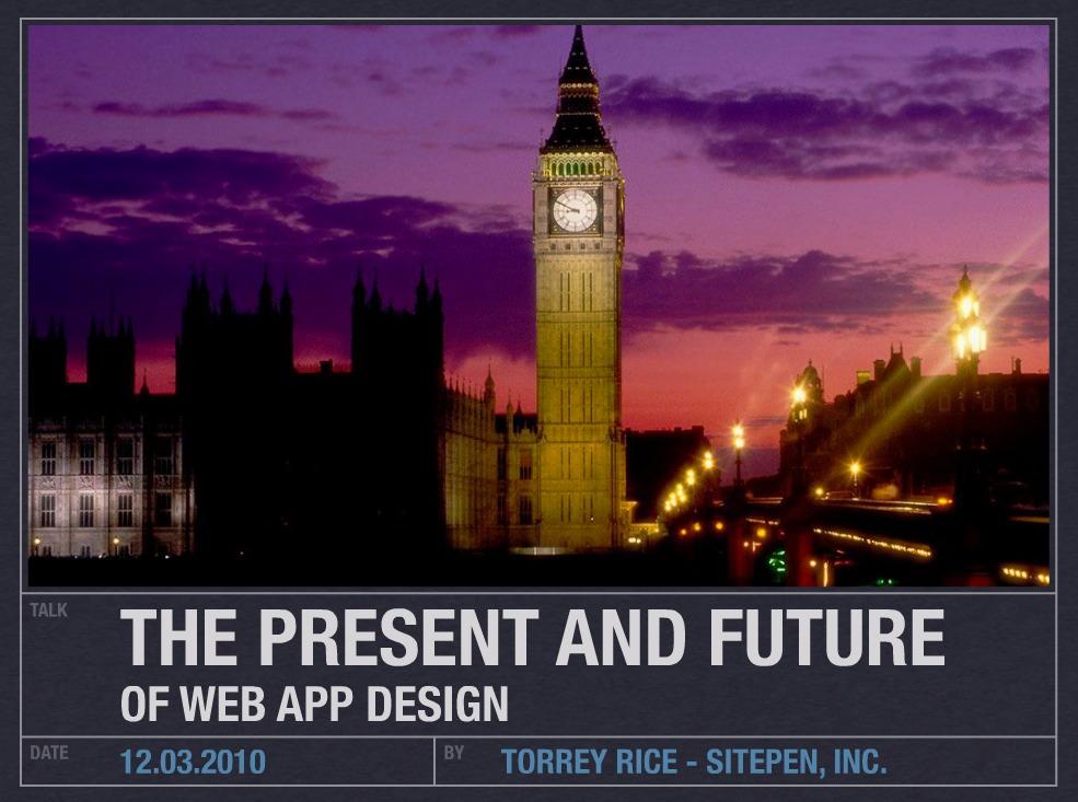 qCon London Slide